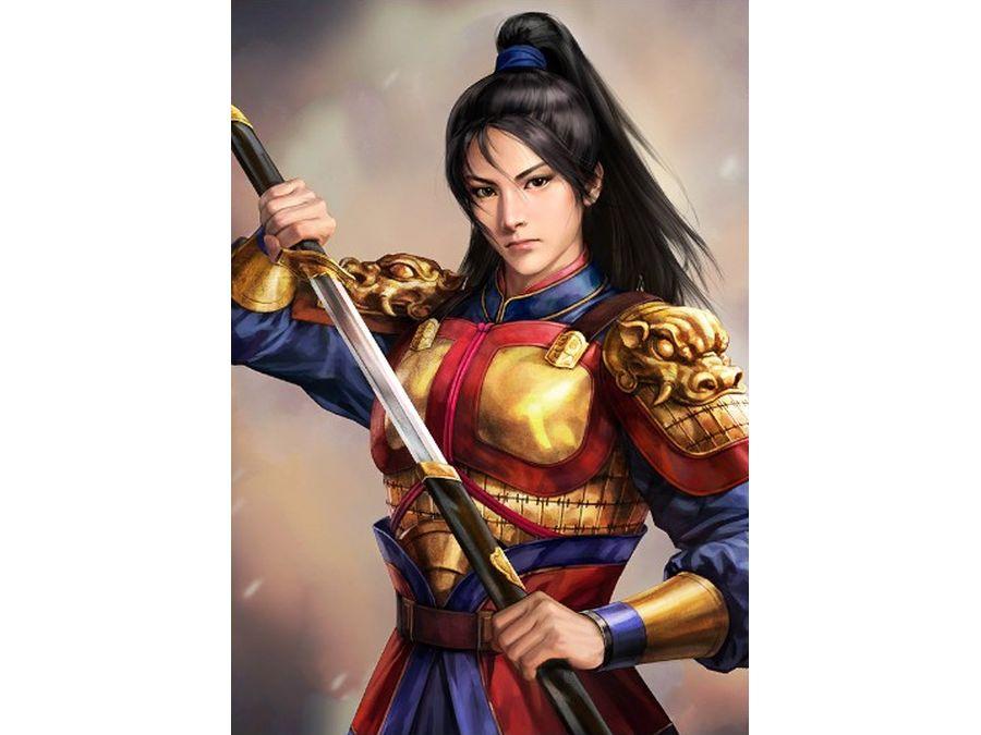 花木蘭 三国志14